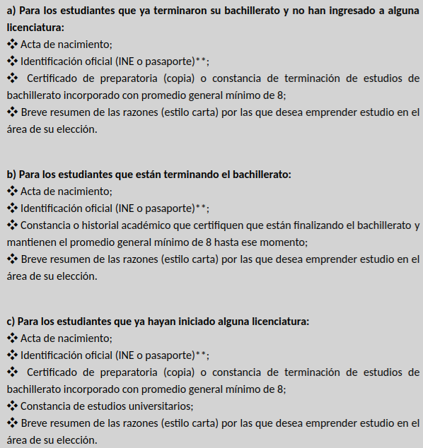 Convocatoria Colmex Guia De Admision 2021 Fechas Examen Proceso